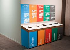 W+K Recycling Bins - Dinesh Designs                                                                                                                                                                                 More
