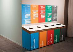 W+K Recycling Bins - Dinesh Designs