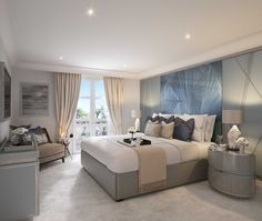 Guest Bedroom, Villa la Vague - Morpheus London