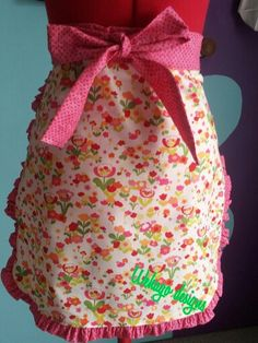 A cheery apron for your kitchen adventures Apron, Kitchen, Design, Cooking, Home Kitchens, Kitchens, Design Comics, Cucina