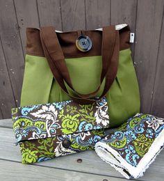 Diaper Bag Set  Nappy Bag Set------ OH SO CUTE