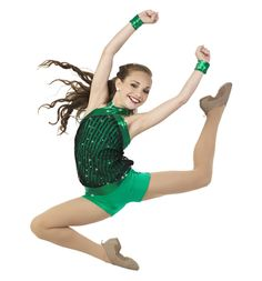 Maddie modeling for Cicci Dance 2015