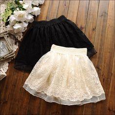 37 Best Ideas for crochet skirt mini tutus Tulle Mini Skirt, Lace Mini Skirts, Cute Skirts, Lace Skirt, Gown Skirt, Women's Skirts, Pleated Skirt, Skater Skirt, Tutus For Girls