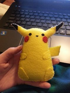 Crafting, Reviews, and Lifestyle!: Pikachu Plushies!