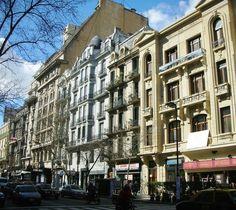 Avenida de Mayo. Buenos Aires