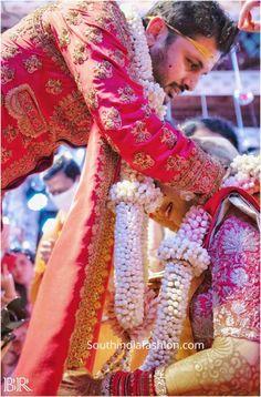 nithiin and shalini wedding 1 scaled e1595806964428 Telugu Brides, Telugu Wedding, Indian Wedding Henna, Indian Bridal, South Indian Weddings, South Indian Bride, Neha Kakkar Dresses, Desi Wedding Decor, Indian Wedding Photography Poses