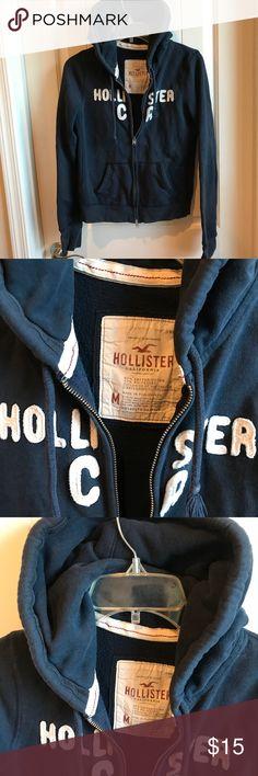 Hollister Zip Up Hoodie Jacket Size M. Hollister Jackets & Coats