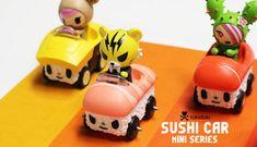 SushiCar Series By Tokidoki