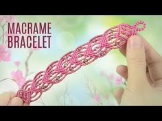 Intro to Beaded Fall Bracelets | Macrame School - YouTube