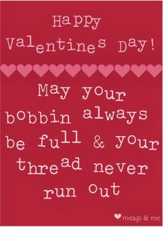 Quilting Valentine Cards from meags and me