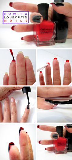 How-To: Christian Louboutin-Inspired Nails | Beautylish