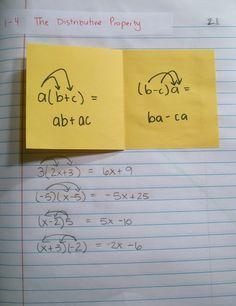 Math = Love: Interactive Notebook Pages of Late (Algebra 1 and Algebra Algebra Interactive Notebooks, Maths Algebra, Math Notebooks, Math Tutor, Math Education, Math Teacher, Math Classroom, Teaching Math, Classroom Ideas