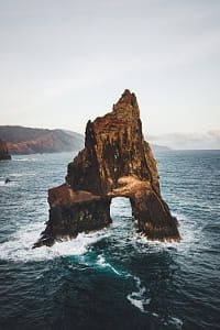 Calm morning at the wild coast in the south of Madeira. Places like this inspire me so much. Diamond Beach, Ocean Photography, Coast, Sea, Explore, Places, Water, Outdoor, Rocks