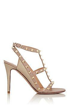 Rockstud T-Strap Sandals