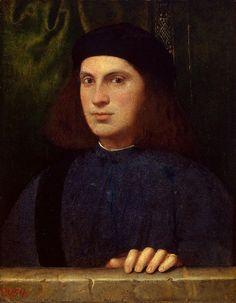 Bonifacio Veronese - Young man (Hermitage) - Bonifazio Veronese — Wikipédia