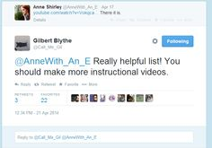 Gilbert watched Anne's instructional video... These two are fantastic already...