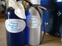 DIY calming aromatherapy mists to help your family get a great night's sleep