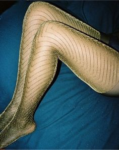 Glittery stockings