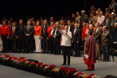 El gobernador Javier Duarte de Ochoa asistió a la toma de protesta del presidente del Comité Ejecutivo Nacional de la Confederación Nacional Campesina (CNC), Gerardo Sánchez García.