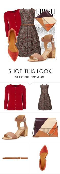 """""""Color combination"""" by roxi-andreika on Polyvore featuring Dorothy Perkins, Dolce&Gabbana, Gianvito Rossi, Chloé and Charlotte Russe"""