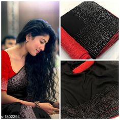 Checkout this latest Sarees Product Name: * Pretty Vichitra Silk Women's Saree* Sizes:  Free Size Easy Returns Available In Case Of Any Issue   Catalog Rating: ★4.2 (3181)  Catalog Name: Saranya Solid Vichitra Silk Sarees with Beads & Stones CatalogID_236852 C74-SC1004 Code: 935-1802294-
