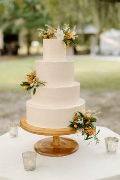 Fall Charleston wedding inspired by Tuscany - 100 Layer Cake Tuscany Wedding Venue, Rustic Wedding, Wedding Venues, Fall Wedding Cakes, Wedding Cake Designs, 100 Layer Cake, Wedding Cake Inspiration, Wedding Trends, Wedding Ideas