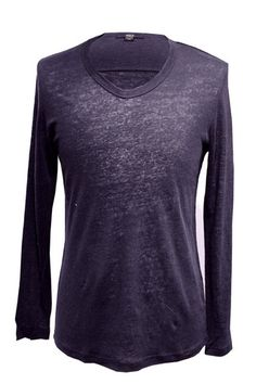 Azul V-Neck Linen Jersey Pullover Bespoke Tailoring, Store Hours, Heritage Brands, Is 11, Seattle, V Neck, Pullover, Clothes For Women, Sweatshirts
