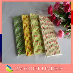 High quality colorful food grade paper drinking straw