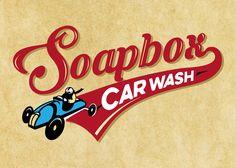 Soapbox car wash logo