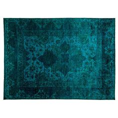 "9'1""x13'4"" Tristan Rug Green Area Rugs ($6,999) ❤ liked on Polyvore featuring home, rugs, green, wool area rugs, traditional wool area rugs, hand knotted rugs, traditional wool rugs and hand made rugs"