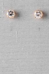 Ashford+Crystal+Stud+Earrings