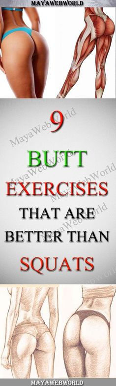 9 Butt Exercises That Are Better Than Squats – MayaWebWorld