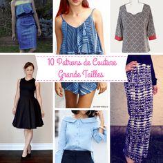 Bonjour à tous , aujourd'hui je vous ai listé 10 patrons gratuits du net en grandes tailles Femme.  Il viennent de blogs Français et Étrangers . Il y a pas mal de monde à suivre pour la quali… Sewing Dresses For Women, Marimo, Free Sewing, Refashion, Sewing Patterns, Shirt Patterns, Plus Size, Summer Dresses, Shirts