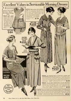Women's Fashion ads used to be so simple!