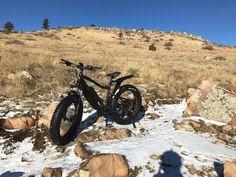 All Terrain R750   48V 750 Watt Electric Fat Bike