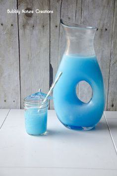Blue Colada Punch  I package Blue Raspberry unsweetened kool-aid powder  3/4 cups sugar  2 quarts water (according to kool-aid directions)  10 oz Pina Colada Mix  1- 2 liter bottle of sprite  1 lemon sliced (optional)  Directions- Mix the koolaid powder with sugar and water. Then mix in the Pina Colada mix and sprite. Garnish with lemon slices.