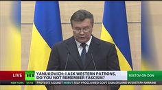 Yanukovich: I'm alive, I'm still president, I'll be back (FULL STATEMENT)