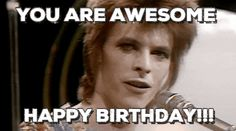 New trending GIF on Giphy. birthday david bowie happy birthday. Follow Me CooliPhone6Case on Twitter Facebook Google Instagram LinkedIn Blogger Tumblr Youtube