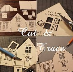 Image result for Putz House Patterns to Cut Out