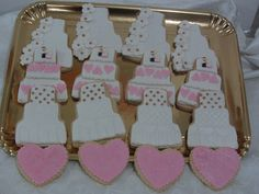 Wedding Cookies. Love!