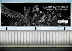 Outdoor - Campanha Detran Peça fantasma