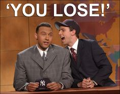 Derek Jeter debates rabid Boston Red Sox fan Seth Meyers