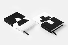 """Japanese designer and art director Yuta Takahashi designed this special edition of the book """"Trinität"""" by Michael Debus using an abstract and monochromatic visual language that reflects the book's intention and main theme. Packaging Design Inspiration, Graphic Design Inspiration, Book Cover Design, Book Design, Editorial Design, Matthieu Venot, Minimalist Book, Print Design, My Design"""