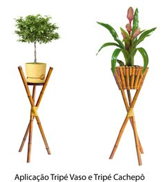 Creative Collection How To Decorate With Bamboo Sticks Bamboo Planter, Bamboo Art, Bamboo Crafts, Diy Home Furniture, Bamboo Furniture, Modern Plant Stand, Diy Plant Stand, Rak Display, Bamboo House Design