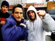 The Beastie Boys, its not even that they're hot. they're just classic...WORD!!!