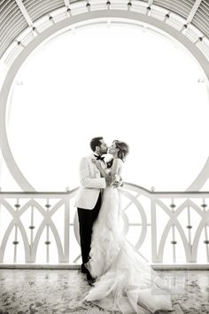 Sealed with a kiss | Photography: Christian Oth Studio - christianothstudio.com  Read More: http://www.stylemepretty.com/2014/07/23/egyptian-red-sea-resort-wedding/