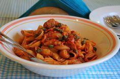 Ζυμαρικά με τόνο και κάππαρη | Live To Bake Tuna and cappers pasta