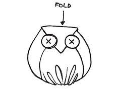 "How to make little owl ""plushies"" - free pattern & tutorial steps by pavlov via cutoutandkeep.net"