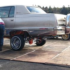 :facepalm::facepalm:What not to do to a Big Body Lac:cry: Sand Toys, Cadillac Fleetwood, Hot Rides, Wide Body, Gmc Trucks, Friends In Love, Cry, Chevrolet, Antique Cars