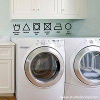 {Vinyl Laundry Symbols}